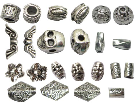 Types+of+Beads Popular types of beads. - Bead jewelry making