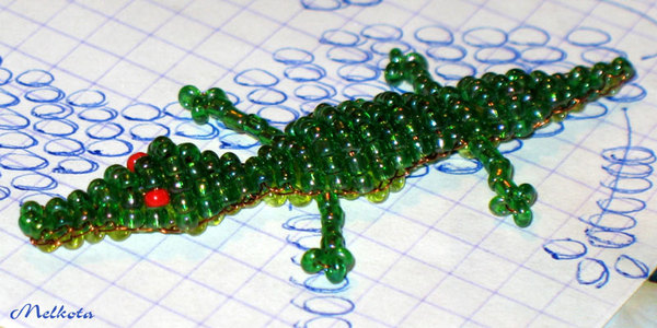 Printable pattern for a beaded tiger purse Trials Ireland